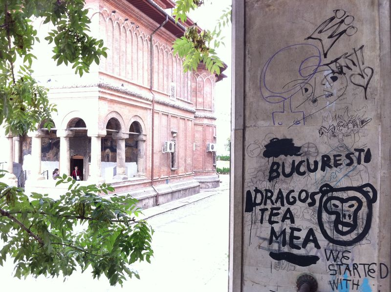 Bucharest grafitti 2