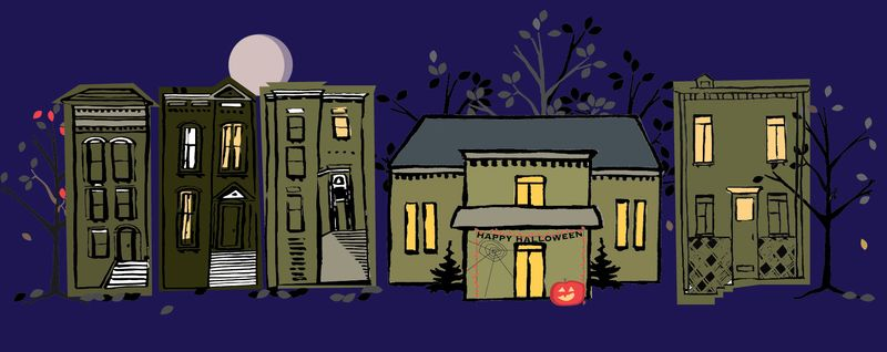 Am House Facebook banner halloween