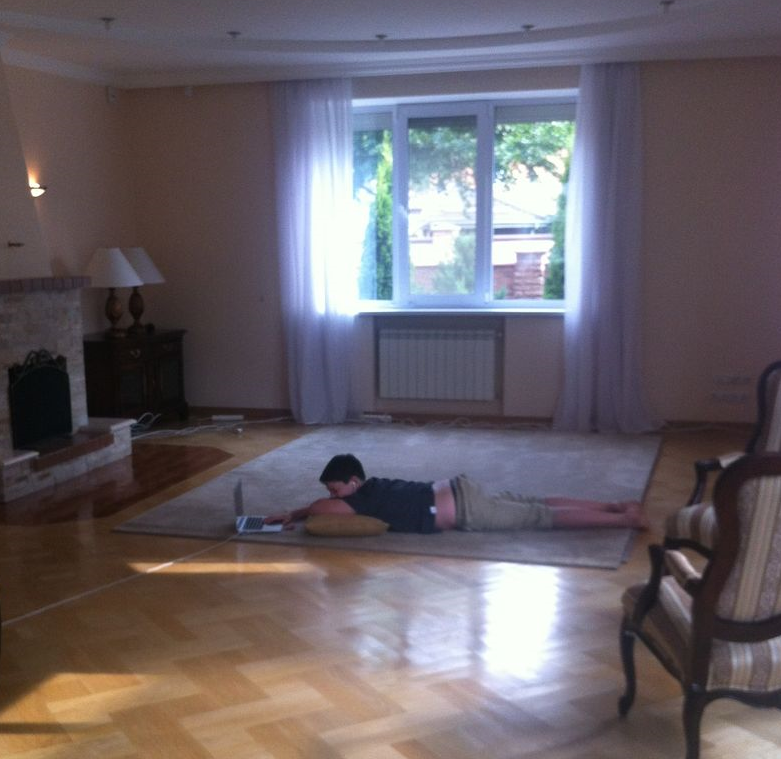 Kyiv living room