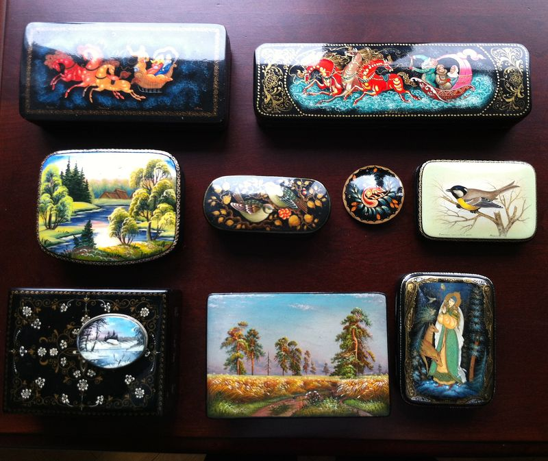 Collections russian boxes